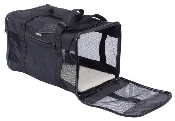 Airline Pet Travel Carrier Soft-Sided for Cats and Small Dogs