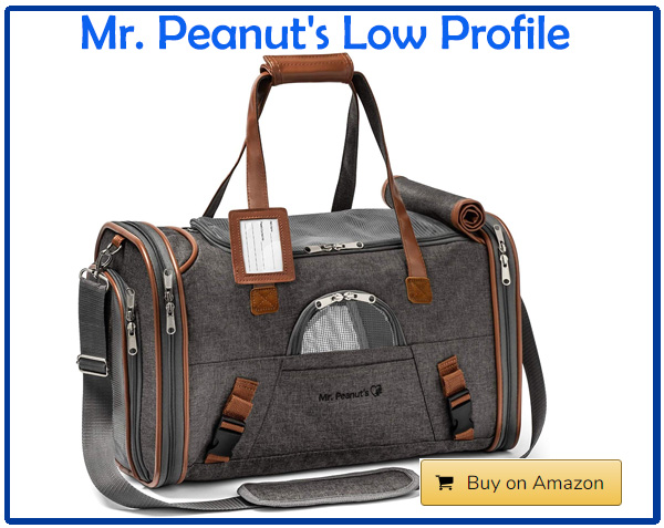 Mr. Peanut's Low Profile Travel Tote