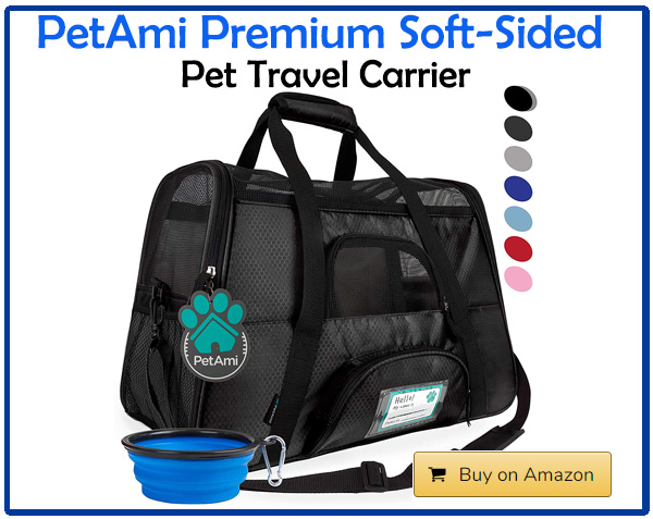 PetAmi Premium Soft-Sided Pet Travel Carrier