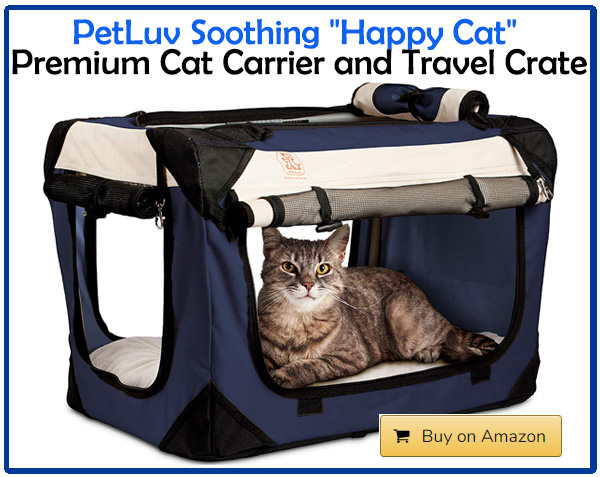 PetLuv Premium Cat Carrier and Travel Crate