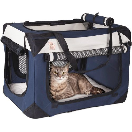 PetLuv Soothing Happy Cat Premium Soft Sided Cat Carrier