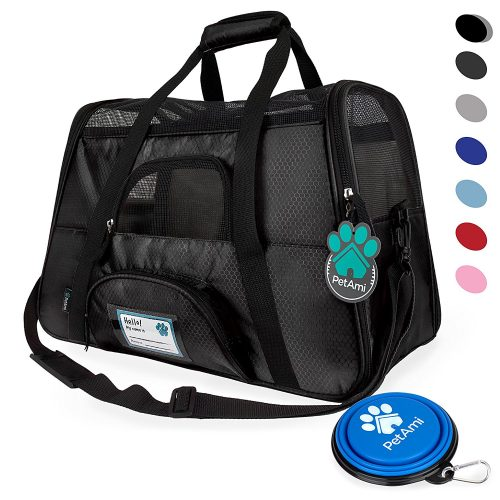 Premium Airline Approved Soft-Sided Pet Travel Carrier by PetAmi