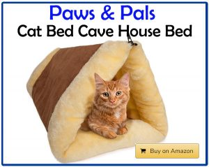 Paws & Pals - Cat Bed Cave House Bed