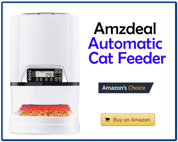 Amzdeal Automatic Cat Feeder