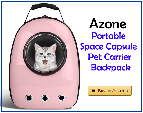 Azone Portable Space Capsule Pet Carrier Backpack