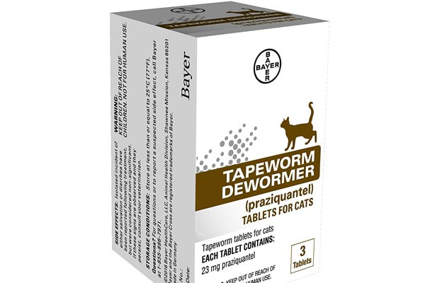 Bayer Tapeworm Dewormer for Cats