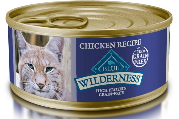 Blue Wilderness High Protein Grain Free Wet Cat Food