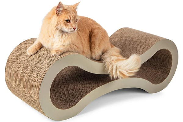 Paws & Pals Cat Scratcher Lounge Post