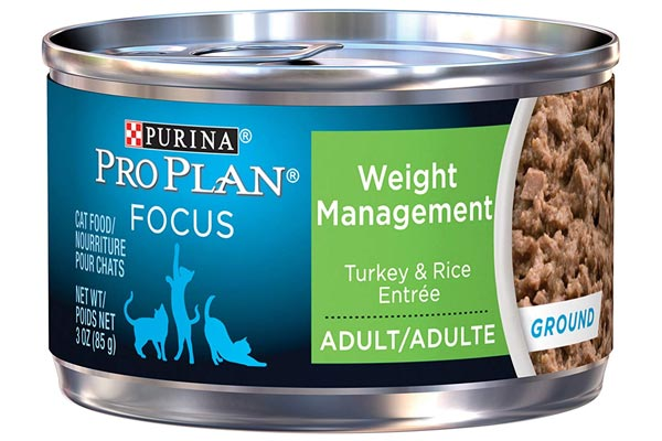 Purina Pro Plan Focus Weight Management Ground Turkey