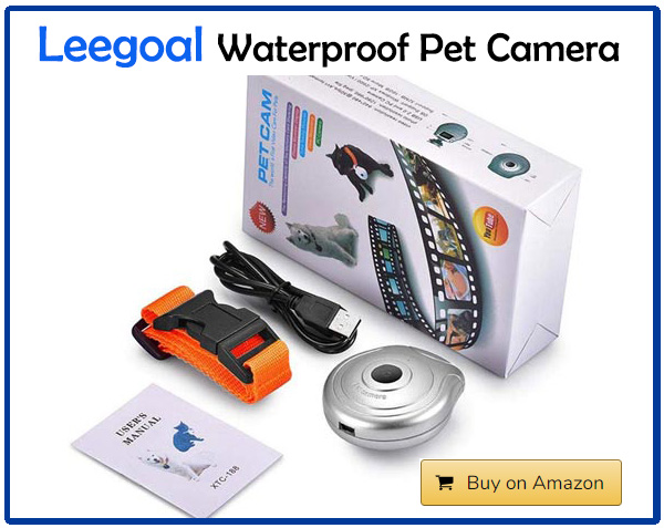 Leegoal Waterproof Pet Camera