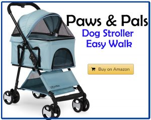 Paws & Pals Dog Stroller Easy Walk