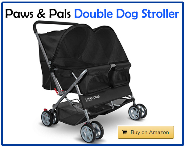 Paws and Pals Double Dog Stroller