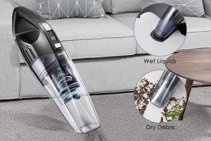 Quick Charge Portable Vacuum Wet Dry for Home and Car and Pet