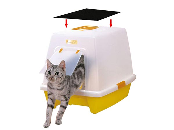Resinta 6 Pack Activated Carbon Filters Cat Litter Boxes