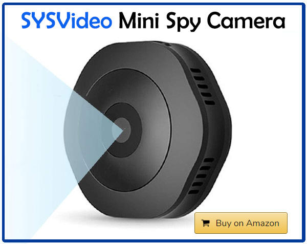 SYSVideo Mini Spy Camera