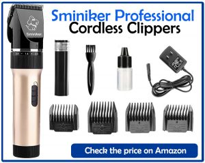 Sminiker Professional Cordless Clippers