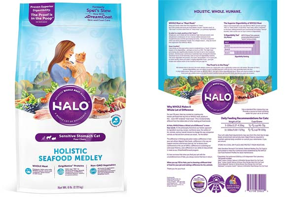 Halo Holistic Natural Dry Cat Food