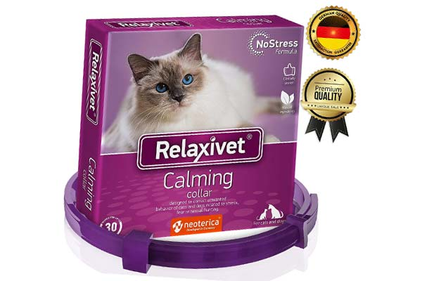 Relaxivet Calming Collar For Cats and Small Dogs