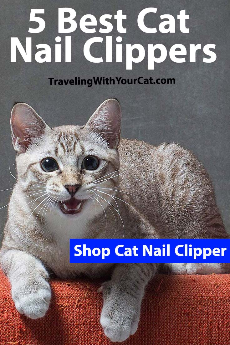 5 Best Cat Nail Clippers